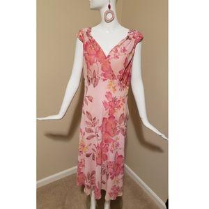 EUC Bandolino Flowy Midi Dress (Size 16)